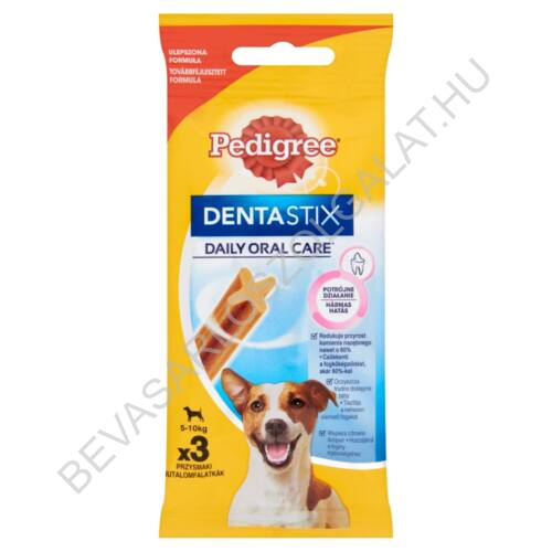 Pedigree Denta Stix Mini Fogtisztító Rúd Kutyáknak 5-10 kg 3 db 45 g (#18)