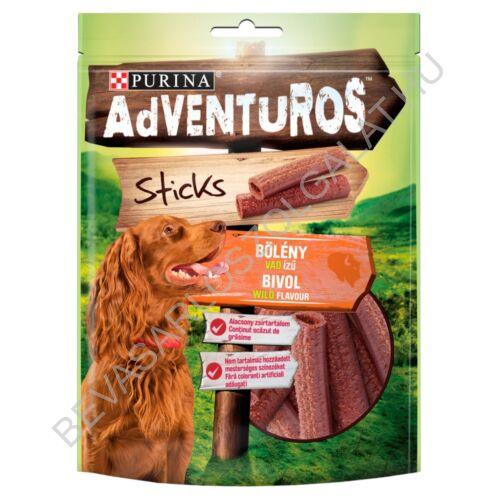 Purina AdVENTuROS Sticks bölény, vad ízű jutalomfalat kutyáknak 120 g