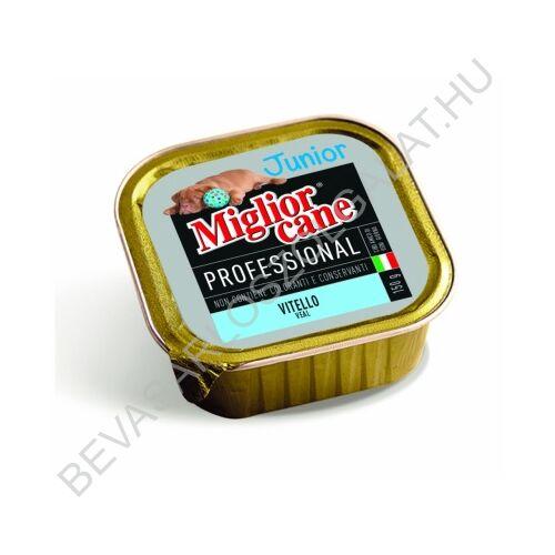 Miglior Cane Junior Professional Kutyaeledel Konzerv Borjúhússal Alutálkás 150 g
