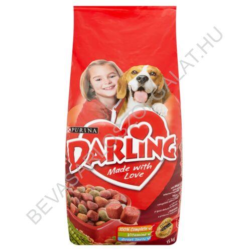 Darling Száraz Kutyaeledel Hússal és Zöldségekkel 15 kg