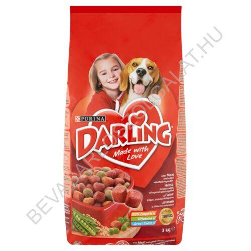 Darling Száraz Kutyaeledel Hússal és Zöldségekkel 3 kg