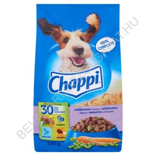 Chappi Száraz Kutyaeledel Marhahússal és Zöldségekkel 500 g
