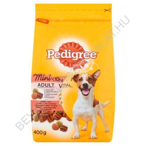 Pedigree Mini Száraz Kutyaeledel Marhahússal és Zöldségekkel 400 g