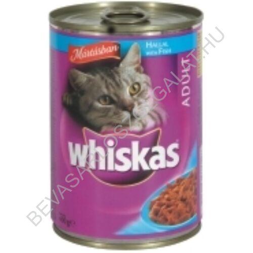 Whiskas Macskaeledel Konzerv Aszpikban Tonhallal 400 g