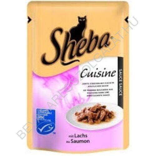 Sheba Selection Macskaeledel Konzerv Lazaccal Alutasakos 85 g