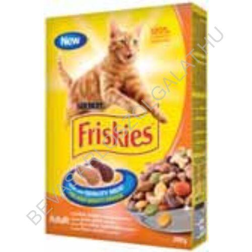 Friskies Adult Száraz Macskaeledel Csirke + Zöldség 300 g