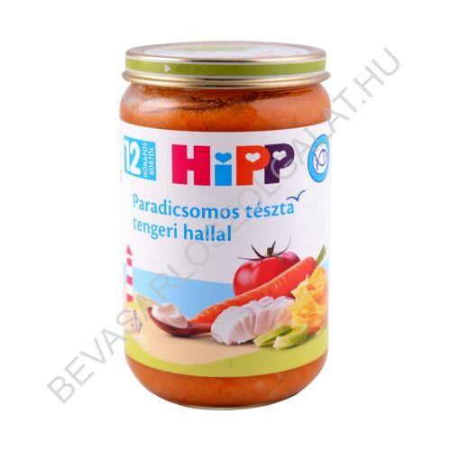 Hipp Bébiétel Paradicsomos Tészta Tengeri Hallal - 12 Hónapos kortól 220 g