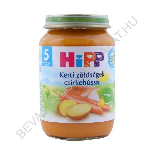 Hipp Bébiétel Kerti Zöldségek Csirkehússal - 5 hónapos kortól 190 g