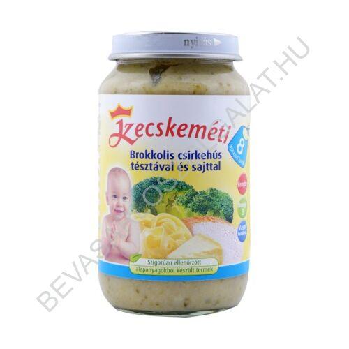 Kecskeméti Brokkolis Csirkehús Tésztával és Sajttal Bébiétel - 8 hónapos kortól 220 g
