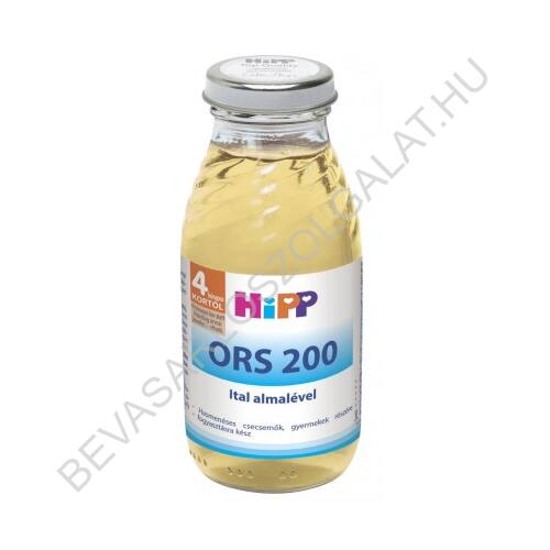 Hipp Bébiital ORS 200 Ital Almalével - 4 hónapos kortól 200 ml