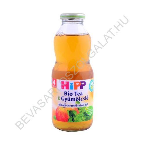 Hipp BIO Bébiital Tea & Gyümölcslé Almalé Citromfű Teával Ital - 4 hónapos kortól 500 ml