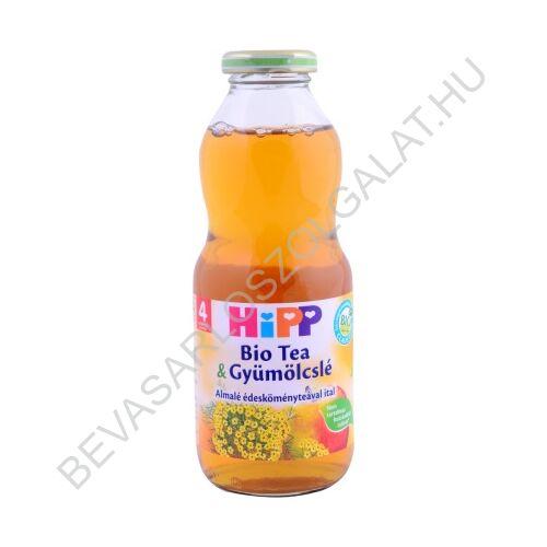 Hipp BIO Bébiital Tea & Gyümölcslé Almalé Édesköményteával Ital - 4 hónapos kortól 500 ml
