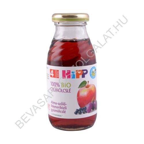 Hipp BIO Bébiital Alma - Szőlő - Feketeribizli Gyümölcslé C Vitaminnal - 4 hónapos kortól 200 ml