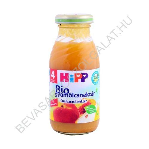 Hipp BIO Bébiital Őszibarack Nektár - 4 hónapos kortól 200 ml