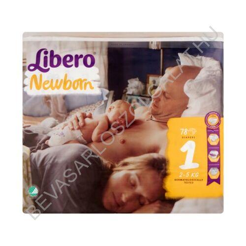 Libero Newborn Pelenka (1) 2-5 kg 78 db