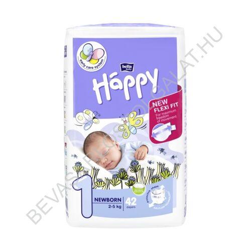 Bella Baby Happy Pelenka New Born (1) 2-5 kg 42 db