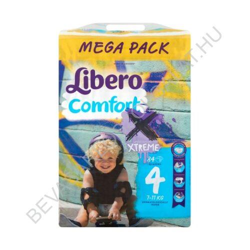 Libero Comfort Pelenka Maxi (4) 7-14 kg Megapack 84 db