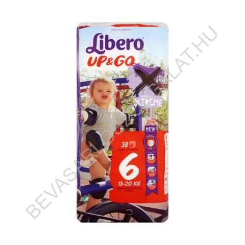 Libero Up&Go Pelenka XL (6) 13-20 kg 38 db