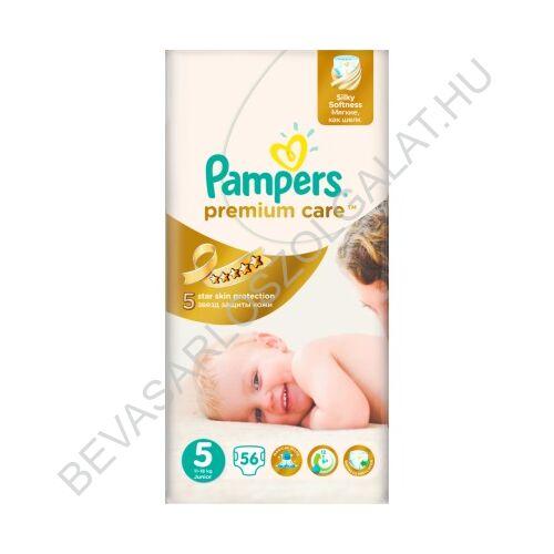 Pampers Premium Care Pelenka Junior (5) 11-18 kg 56 db