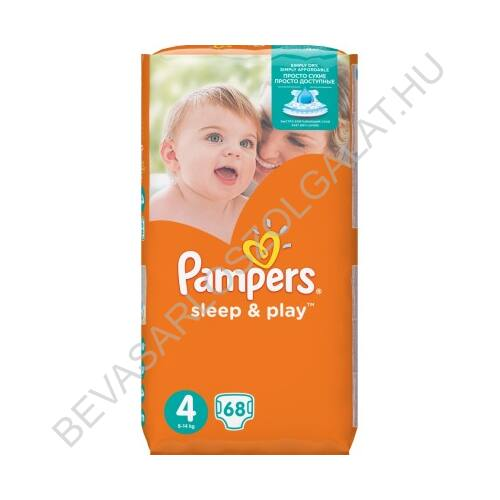 Pampers Sleep & Play Pelenka Maxi (4) 9-14 kg 68 db