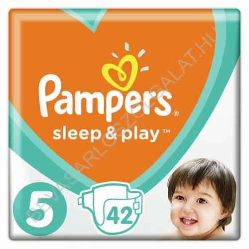 Pampers Sleep & Play Pelenka Junior (5) 11-16 kg 42 db