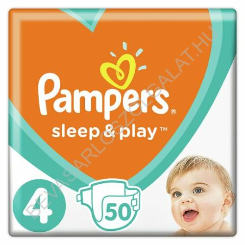 Pampers Sleep & Play Pelenka Maxi (4) 9-14 kg 50 db