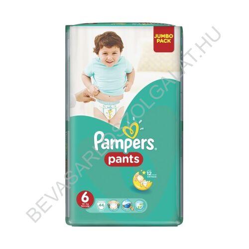 Pampers Pants Bugyipelenka Méret: (6) 16+ 44 db