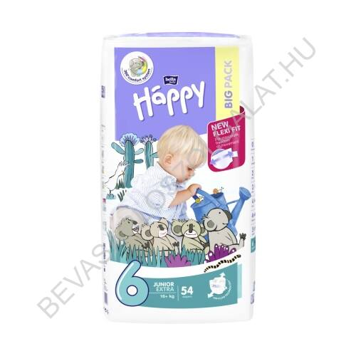 Bella Baby Happy Pelenka Junior Extra (6) 16+ kg 54 db