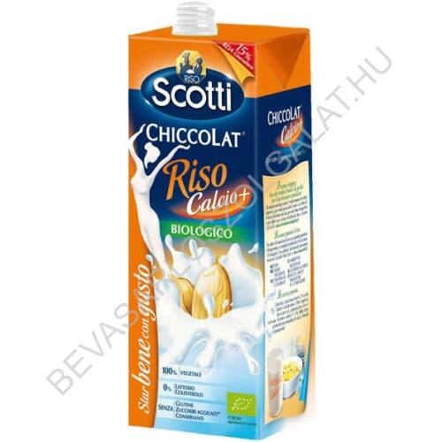 Riso Scotti Bio Rizsital Kálciummal UHT 1 l