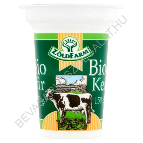Zöldfarm Bio zsírszegény, élőflórás Kefír 150 g