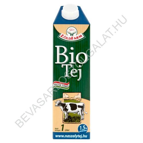 Zöldfarm Bio Tartós Tej 1,5 % UHT 1 l (#12)