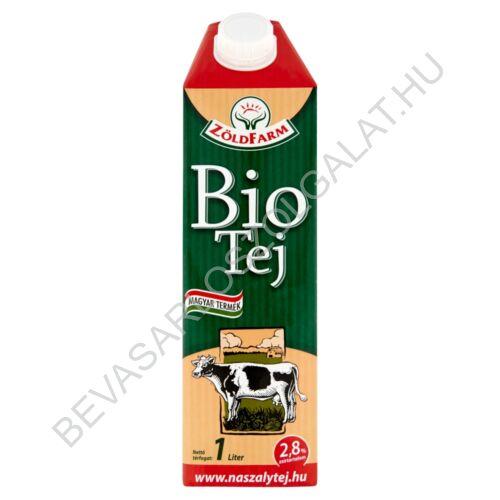 Zöldfarm Bio Tartós Tej 2,8 % UHT 1 l (#12)