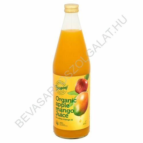 Biopont Bio Alma-Mangó Gyümölcslé üveges 750 ml