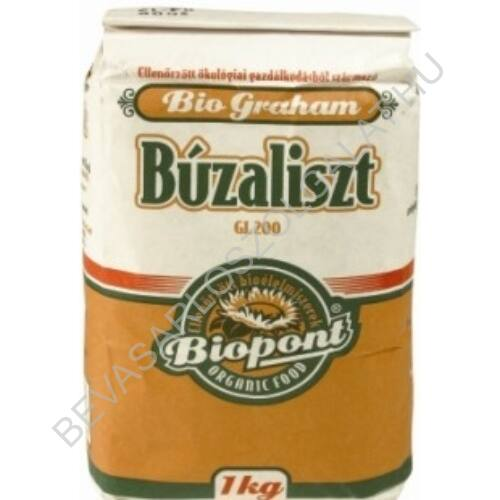 Biopont Bio Graham Búzaliszt 1 kg