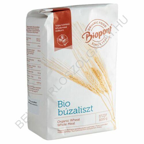 Biopont Bio Teljes Kiőrlésű Búzaliszt 1 kg