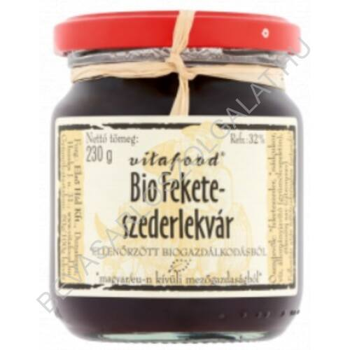 Vitafood Bio Feketeszeder Lekvár 230 g
