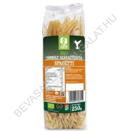 Aby Bio Tönköly Száraztészta Spagetti 250 g