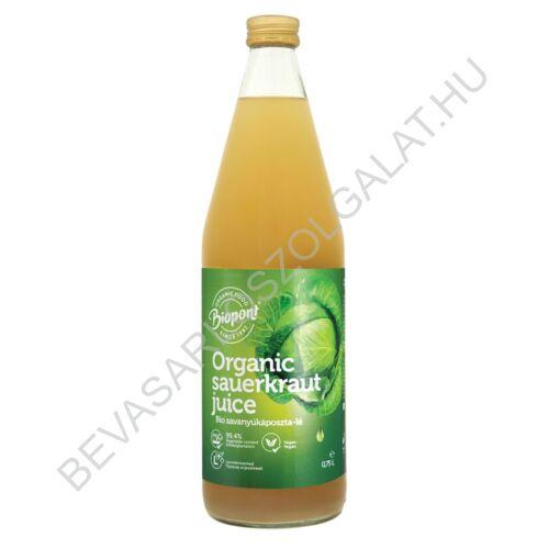 Biopont Bio Savanyúkáposzta - lé üveges 750 ml