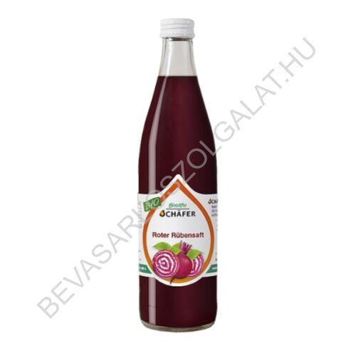 Schafer Bio Céklalé 100% üveges 0,5 l