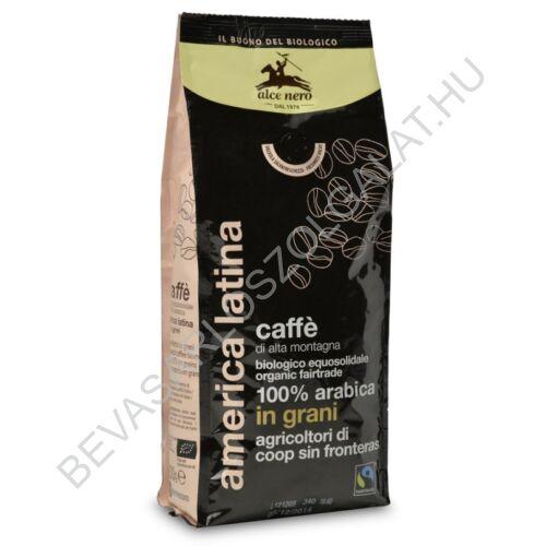 Alce Nero Bio Kávé 100% Arabica Szemes Fair Trade 500 g