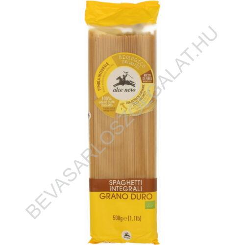 Alce Nero Bio Teljeskiőrlésű Durumtészta Spaghetti 500 g