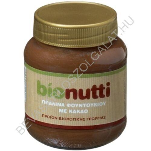 Bionutti Bio Mogyorókrém üveges 400 g