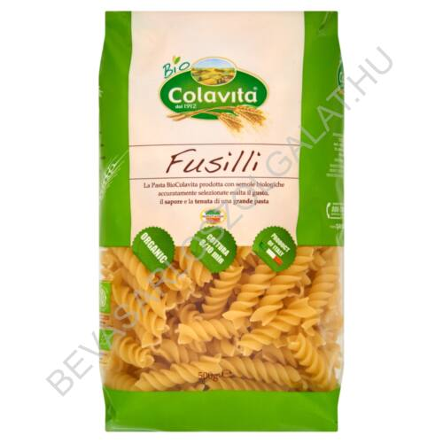 Colavita Bio Fusilli Tészta 500 g