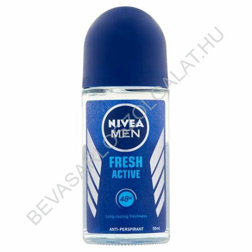 Nivea For Men Roll-On 48h Fresh Active 50 ml