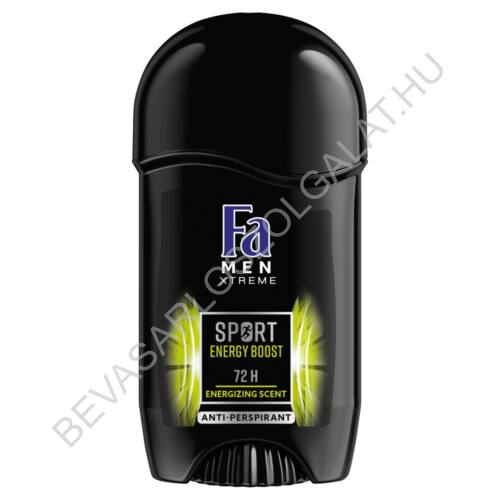 Fa For Men Deostift 72h Xtreme Sport Energy Boost 50 ml