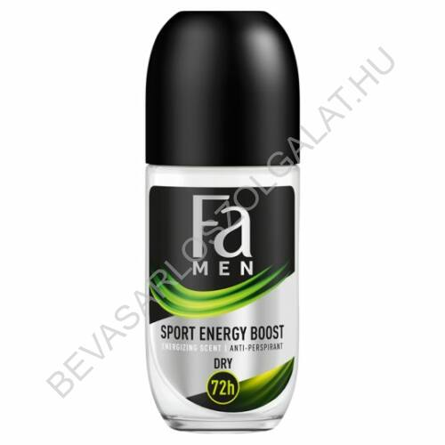 Fa For Men Roll-On 72h Xtreme Sport Energy Boost 50 ml