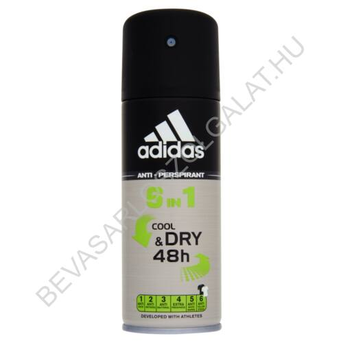 Adidas For Men Deospray 48h Cool & Dry 6in1 150 ml