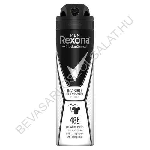Rexona For Men Deospray 48h Invisible On Black + White Clothes 150 ml