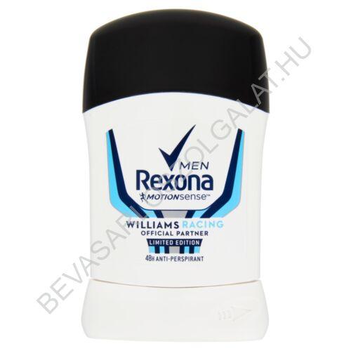 Rexona For Men Deostift Williams Racing 50 ml