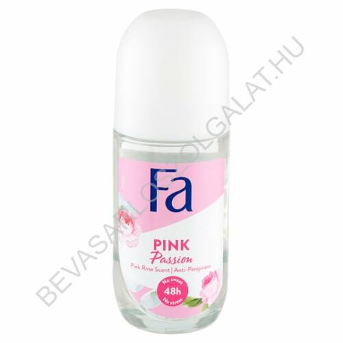 Fa Roll-On 48h Pink Passion Pink Rose Scent 50 ml
